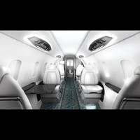 bombardier learjet 85 interior 3d max