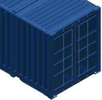 maya 53ft iso shipping container