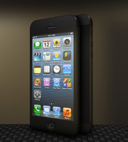 iphone 3d obj