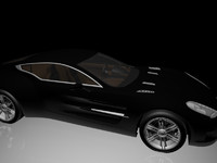 3d worked aston martin