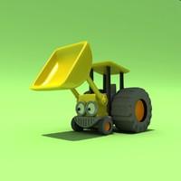 3d toys bob builder model