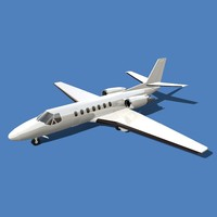 3d model of cessna citation encore