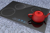 cooktop kitchen appliance 3d obj