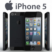 realistic apple iphone 5 3ds