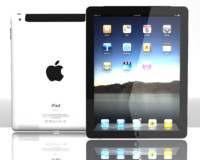 3d new ipad 3 model
