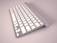 apple keyboard 3d 3ds