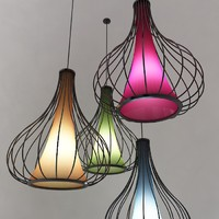 maya ceiling lamp colors