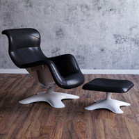 Karuselli swivel armchair