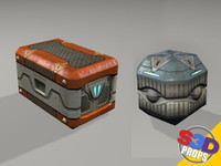Sci-Fi Crates by S3D