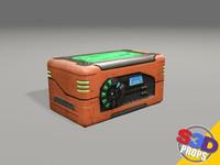 Sci-Fi Orange Crate