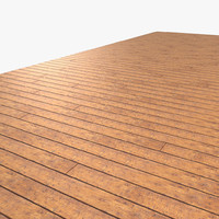 Wooden Planks Floor
