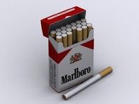 Marlboro Cigarette Box