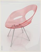 max acrylic chair