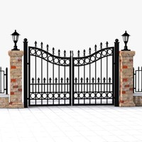 Wrought Iron Gate 10