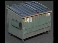 c4d dumpster dump