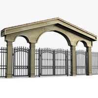 maya wrought iron gate