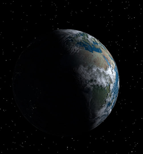 3d earth - High Earth... by chiburgen89