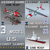 3ds max coast guard u s