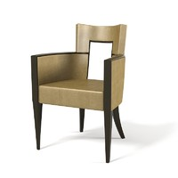 maya art deco armchair