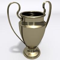 cup trophy 3d 3ds