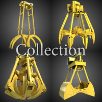 Excavator Grab Collection 1