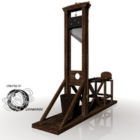3ds max guillotine capital punishment