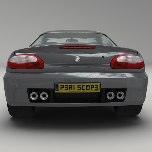 3d mgtf british sports car - MG TF British Sports Car... by PeriscopeStudios