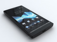 3d sony xperia sl model