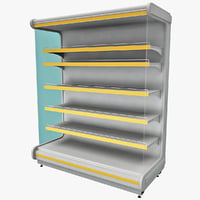 3ds max supermarket shelf v2