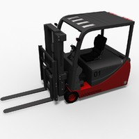 3d hight lift truck model