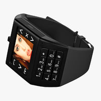 3ds max watchphone iwatch eg100 black
