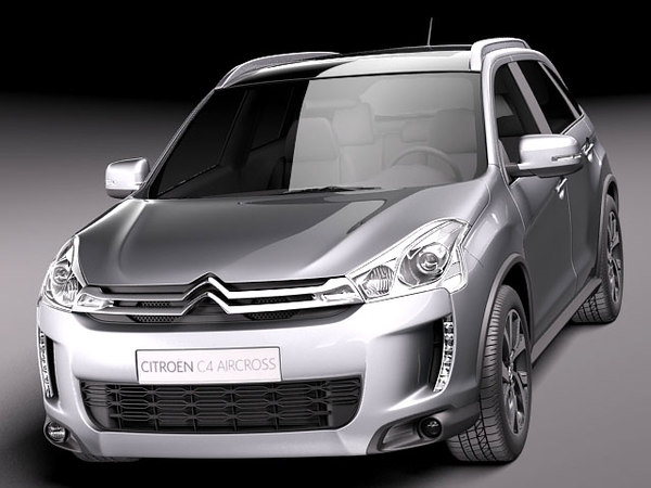3d model citroen c4 aircross suv. Black Bedroom Furniture Sets. Home Design Ideas