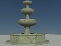 x water fountain