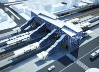 max modern railway station