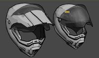 3d motocross helmet