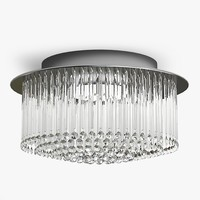 chandelier light 3d obj