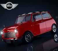 3d model mini cooper 60