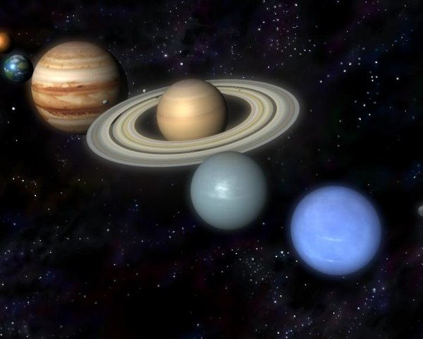 Nine Planet 3D Solar System - Pics about space