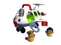3d model fisher price toy