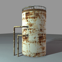 3dsmax vertical tank