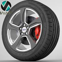 Wheel Volvo S60 2