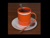 3ds max mug tea