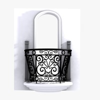 3ds decorative wrought iron