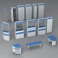 Pharmacy furniture pack v1