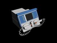 3d medical defibrillator
