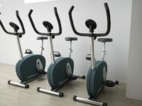 fitness bike 3d max