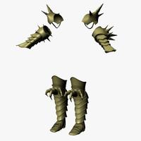 armors 1 3d max