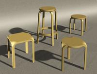 maya stools designer