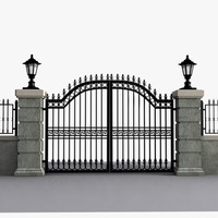 Wrought Iron Gate 15