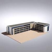 modern generic building x